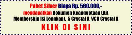 paket gold crystal x